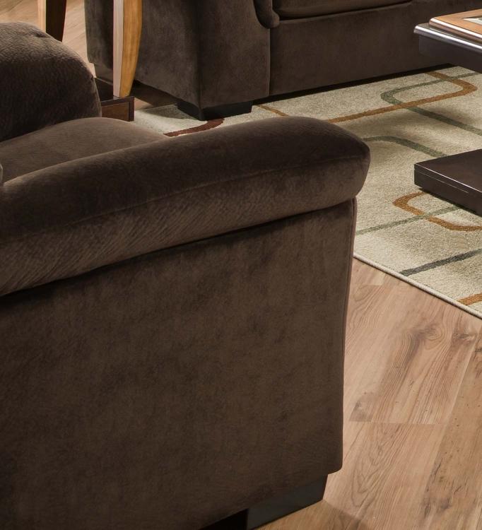 3880 Chair - Argus Fabric - Coffee