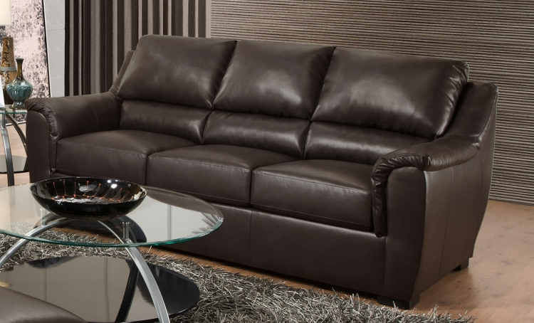 6540 Sofa - Bonded Leather - Espresso