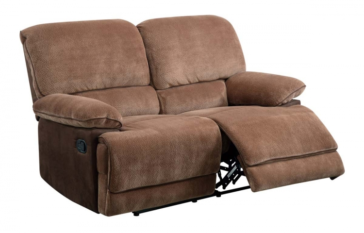 9968 Reclining Love Seat - Champion - Brown Sugar