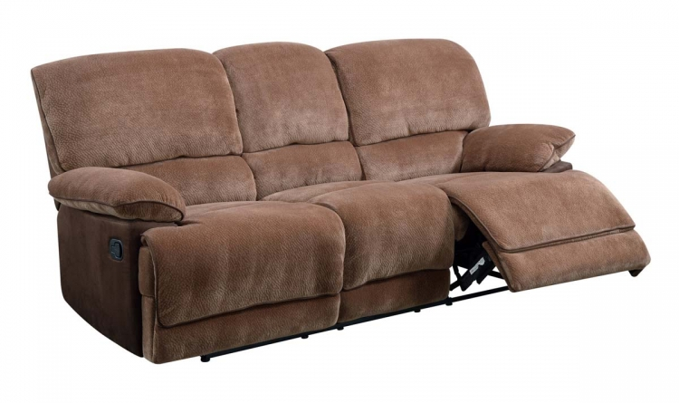 9968 Reclining Sofa - Champion - Brown Sugar - Global Furniture
