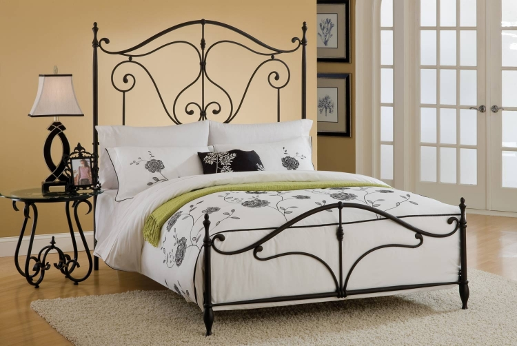Caffrey Bed - Dusty Bronze - Hillsdale