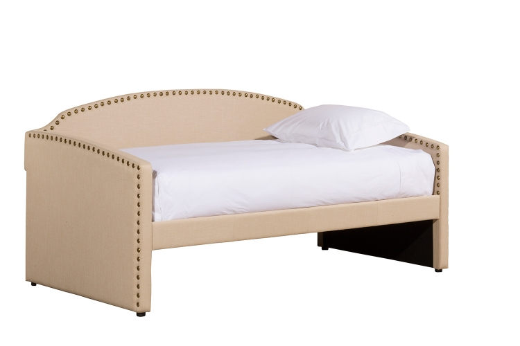 Lani Daybed with Trundle - Cream