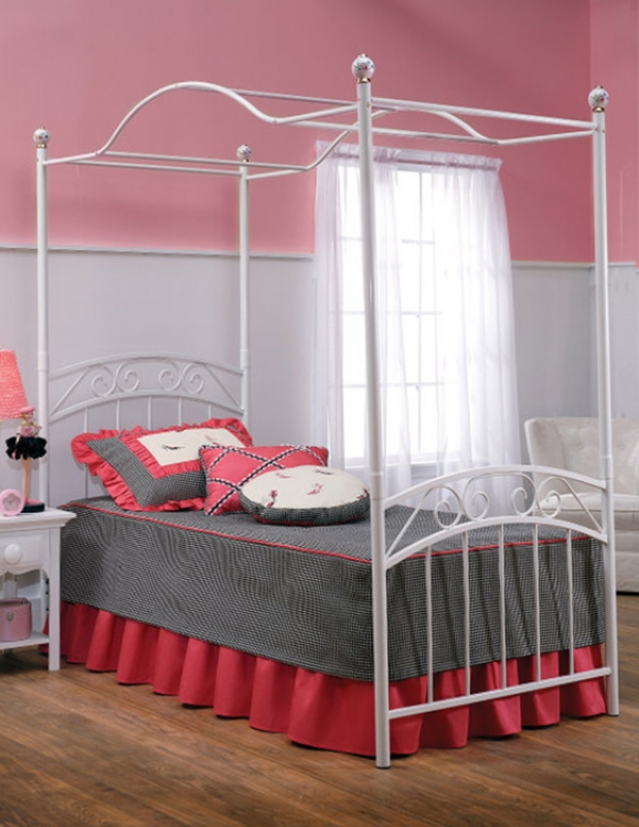 Emily Youth Canopy Bed - Hillsdale