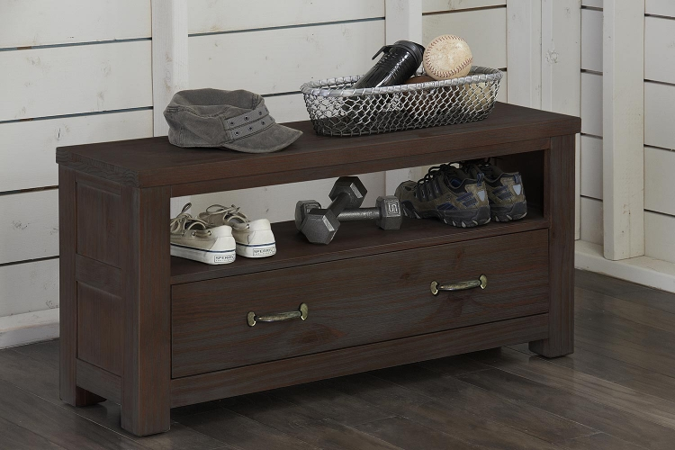Highlands Dressing Bench - Espresso
