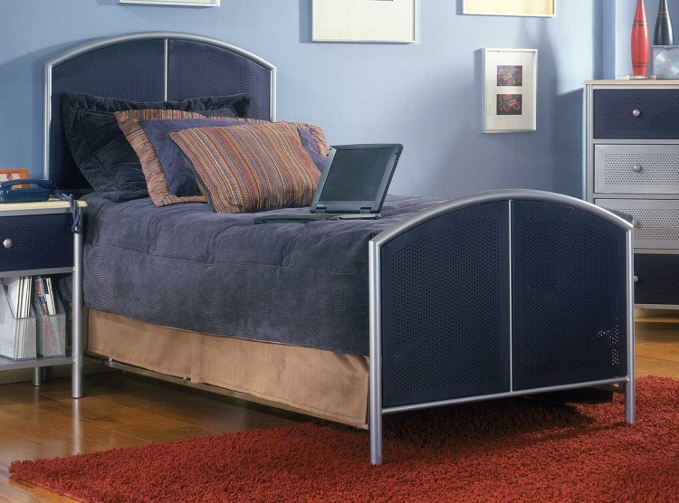 Universal Youth Mesh Metal Bed - Hillsdale