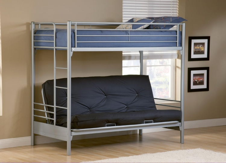 Universal Youth Twin Futon Bunk Bed