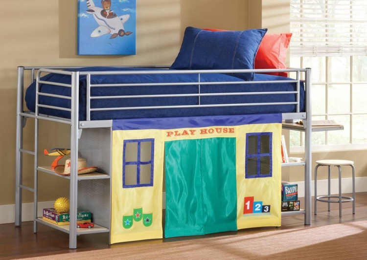 Universal Youth Junior Loft Bed Set - Hillsdale