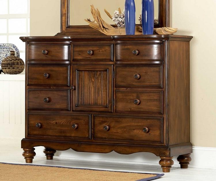 Pine Island Mule Dresser - Dark Pine