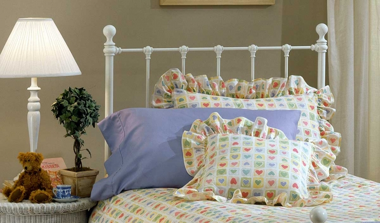 Molly Headboard - White - Hillsdale