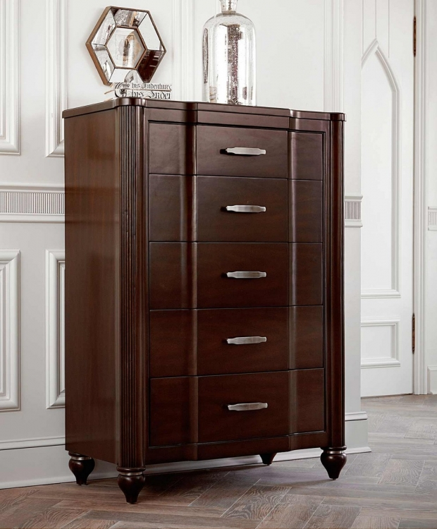 Roma Chest - Espresso Cherry