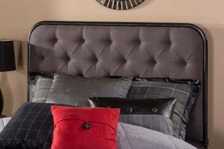 Salerno Headboard - Black