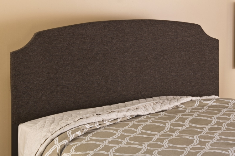 Lawler Headboard - Black/Brown Fabric