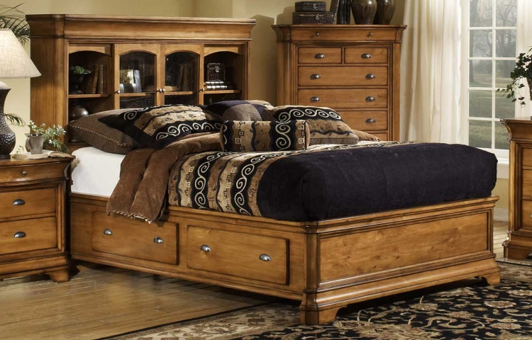 Lafayette Bookcase Bed