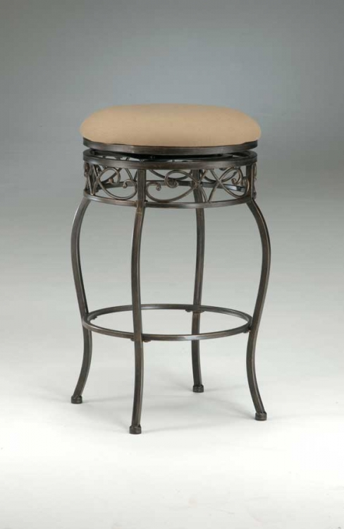 Lincoln Swivel Counter Stool - Backless