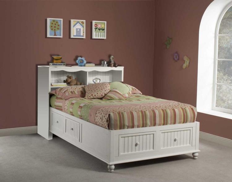 Westfield Platform Bookcase Bed