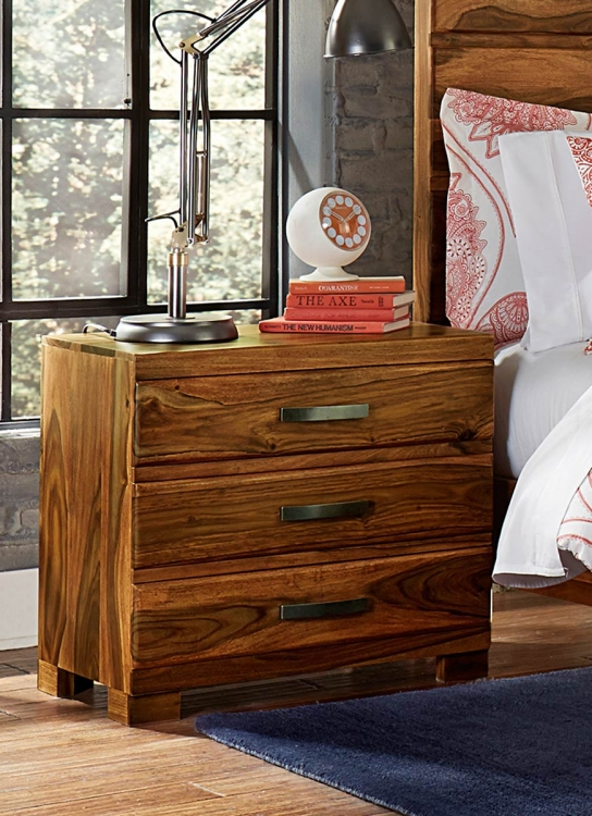 Madera Nightstand - Natural