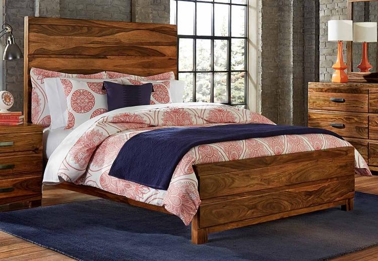 Madera Platform Bed - Natural