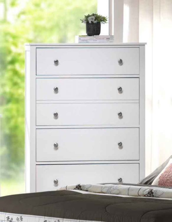 Dio Chest White Finish
