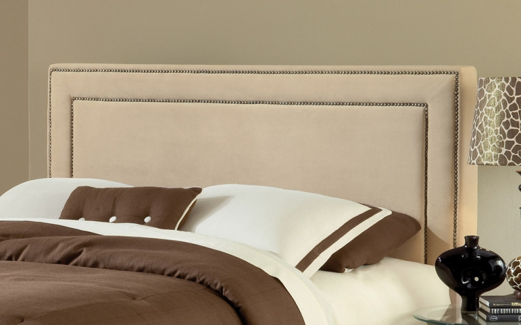 Amber Fabric Headboard - Buckwheat