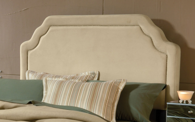 Carlyle Fabric Headboard - Buckwheat