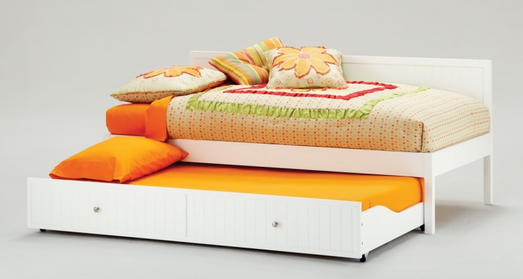 Cody Twin Daybed And Trundle - White
