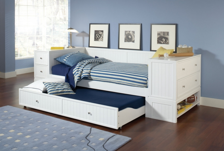 Cody Daybed Set A - White - Hillsdale