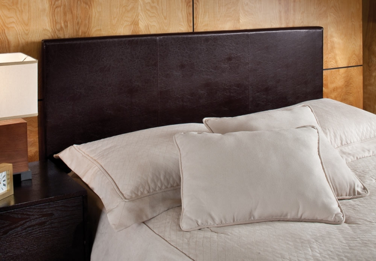 Springfield Upholstered Headboard - Brown