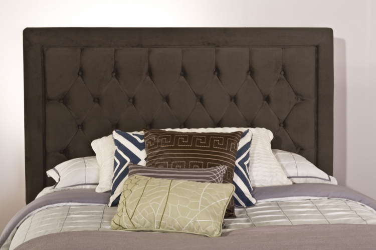 Kaylie Headboard - Pewter