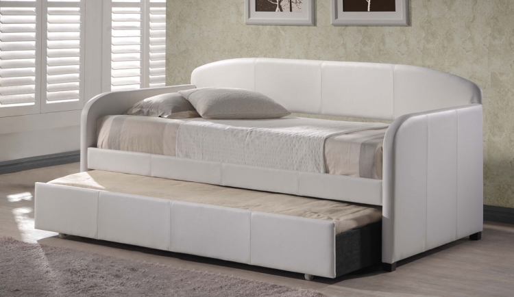 Springfield Daybed With Trundle - White - Hillsdale