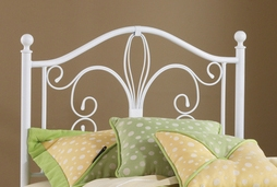 Ruby Headboard - Textured White - Hillsdale