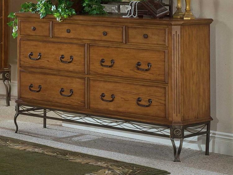 Camelot Dresser in Oak
