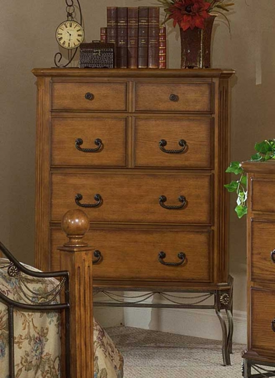 Camelot Chest in Oak