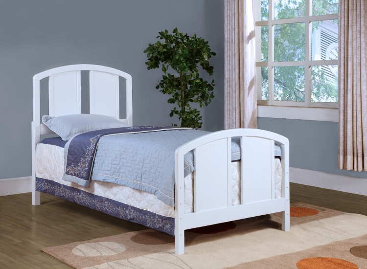 Baylor Bed - Twin - White - Hillsdale