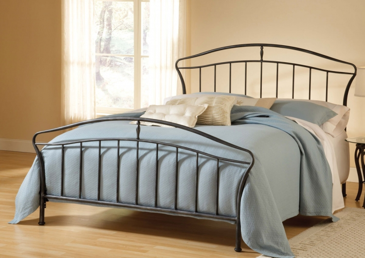 Denmark Bed - Black - Hillsdale