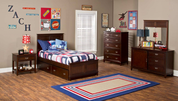 Nantucket Bedroom Collection - Espresso - Hillsdale