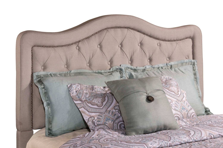 Trieste Headboard - Dove Gray Linen