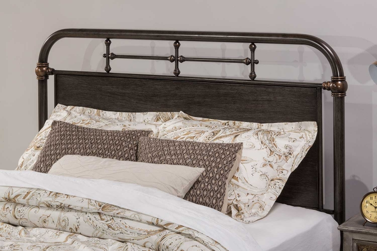 Logan Headboard - Rubbed Black