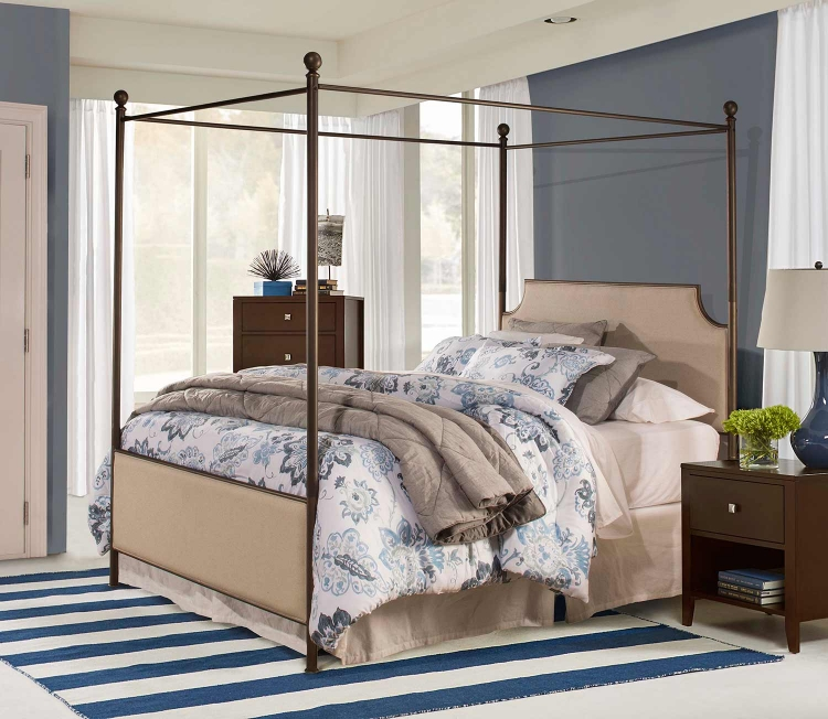 McArthur Canopy Bed - Bronze