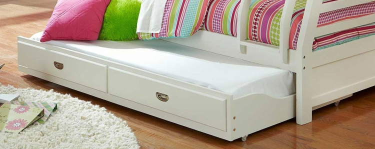 Hillsdale Bailey Twin Trundle - White