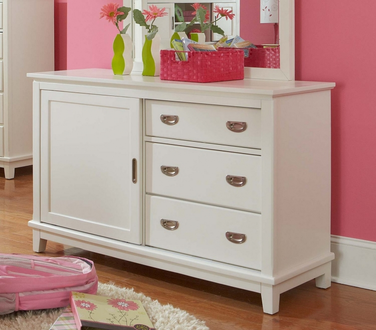 Bailey Dresser - White