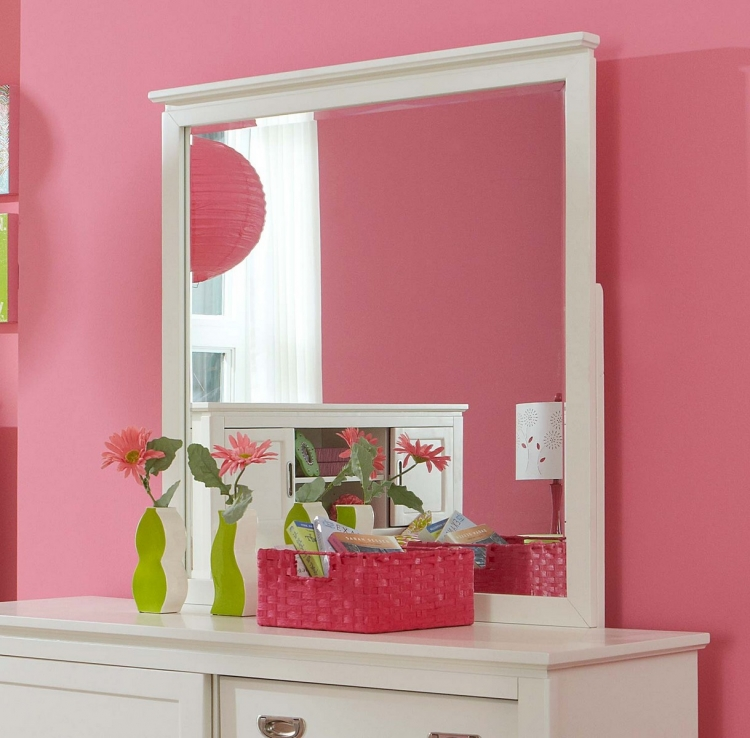Bailey Mirror - White