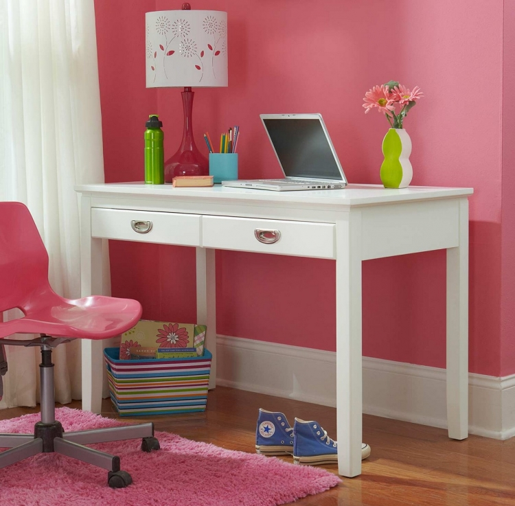 Bailey Writing Desk - White