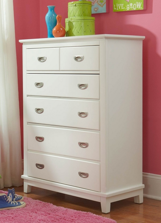 Bailey Chest - White