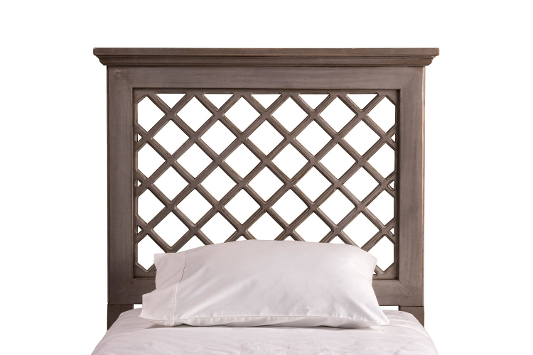 Kuri Headboard - Distressed Gray