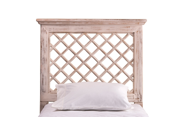 Kuri Headboard - Distressed White