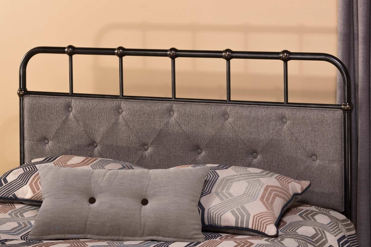 Langdon Headboard - Rubbed Black