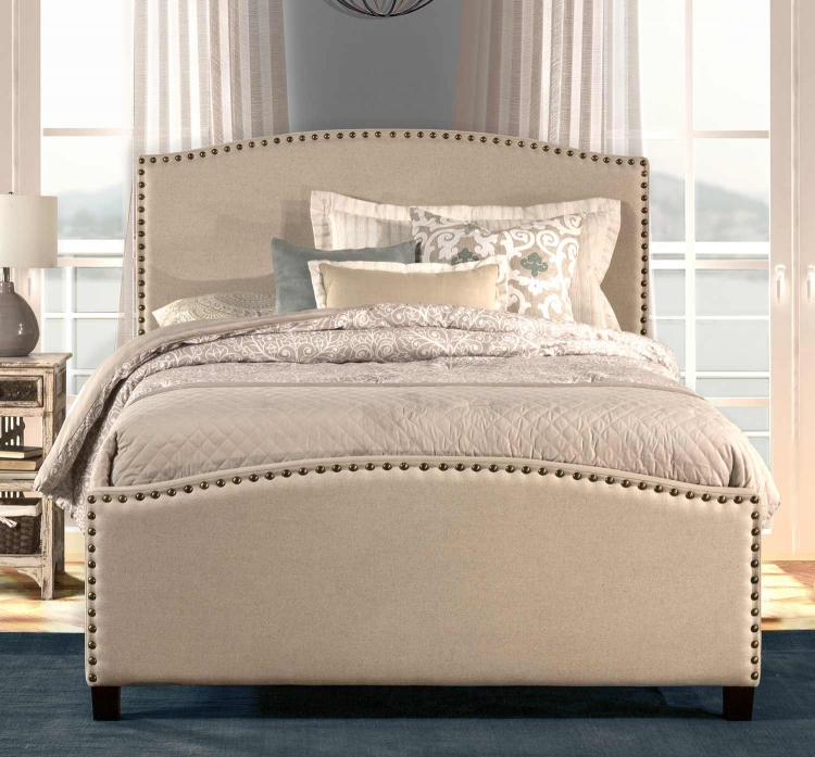 Kerstein Bed - Light Taupe