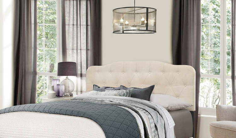 Nicole Headboard - Linen Fabric