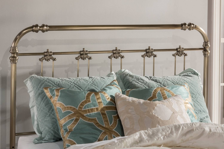 Samantha Queen Size Headboard - Soft Gold
