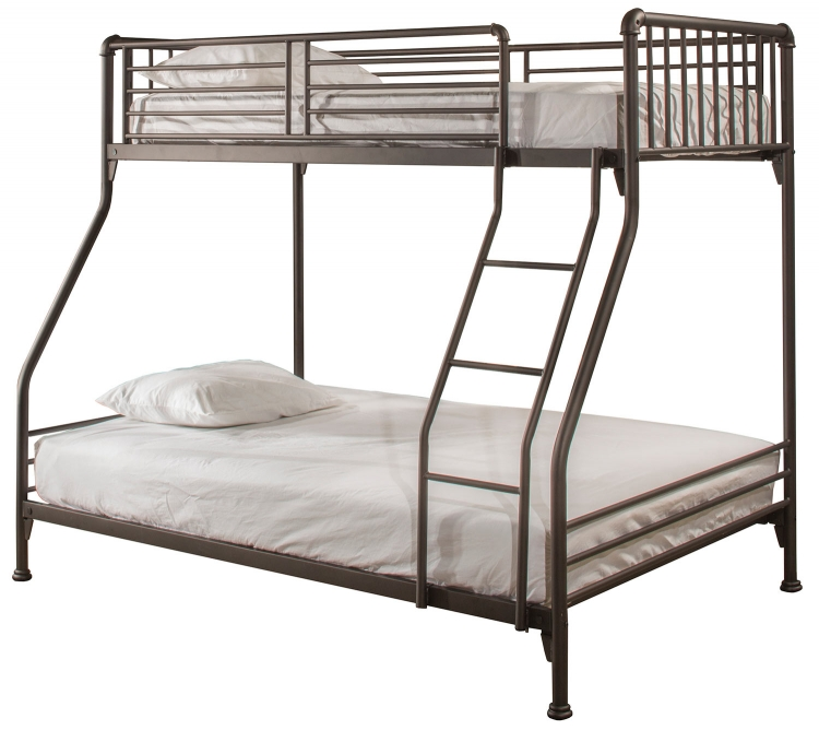 Brandi Twin/Full Size Bunk Bed - Oiled Bronze